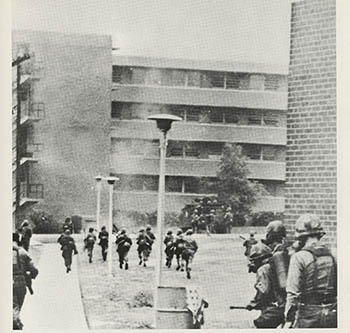 Image result for north carolina a&t state university 1969 national guard incident